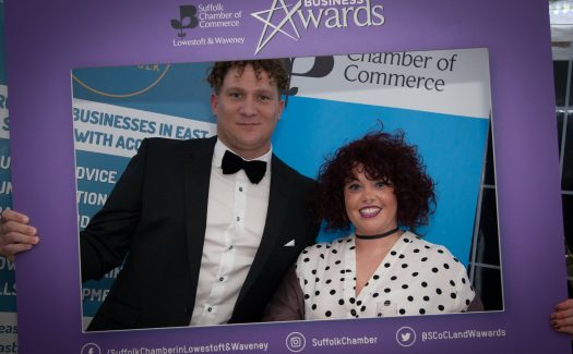 Bear Credit at the Lowestoft and Waveney Chamber of Commerce Awards