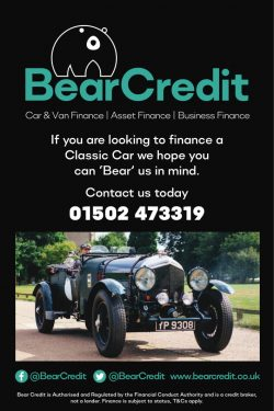 Classic Car advert for Bear Credit